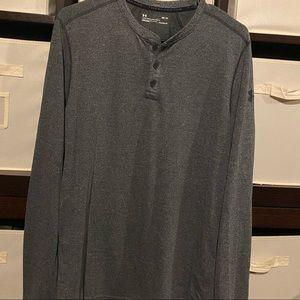 Under Armor Threadborne Long Sleeve Shirt Like New